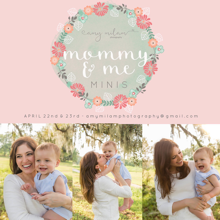 Mommy + Me Mini Sessions {New Orleans Family Photographer}